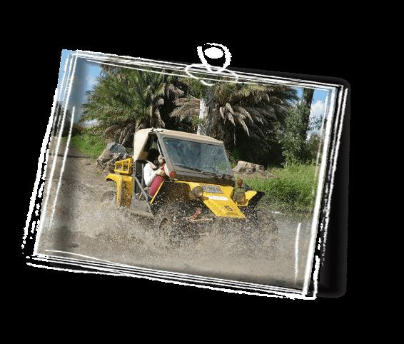 yellow razer riding in Israel