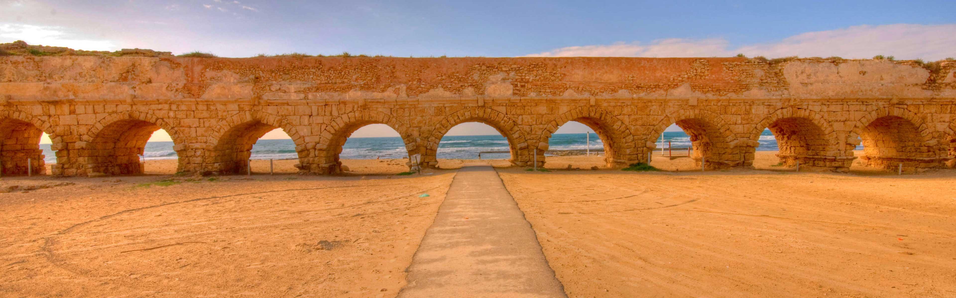 Cesarea's old aqueduct