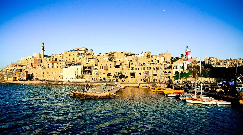 Boat in Jaffa port
