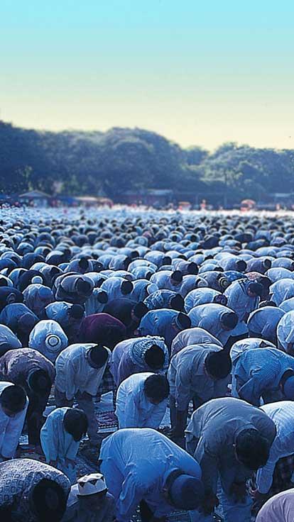 muslams praying